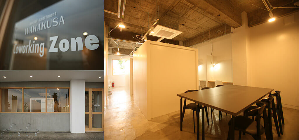 social apartment CoworKing Zone
